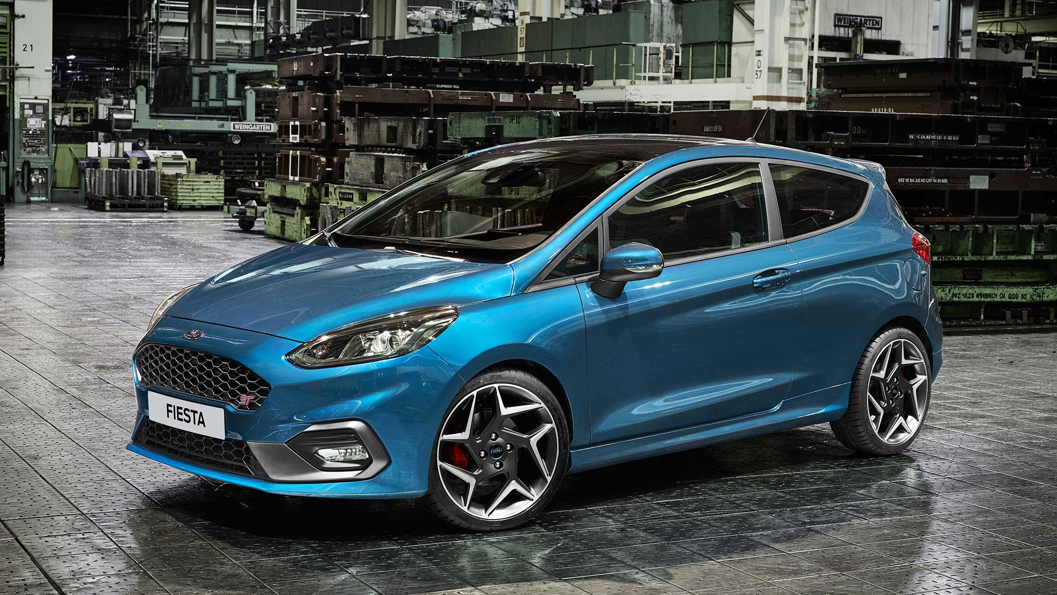 All New Ford Fiesta ST