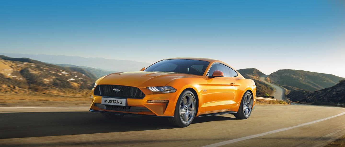 Ford Mustang For Hire Ireland